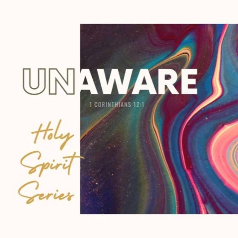 Unaware Series#2- The Amazing Holy Spirit_P.Jeff